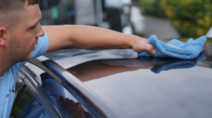 Auto goed wassen